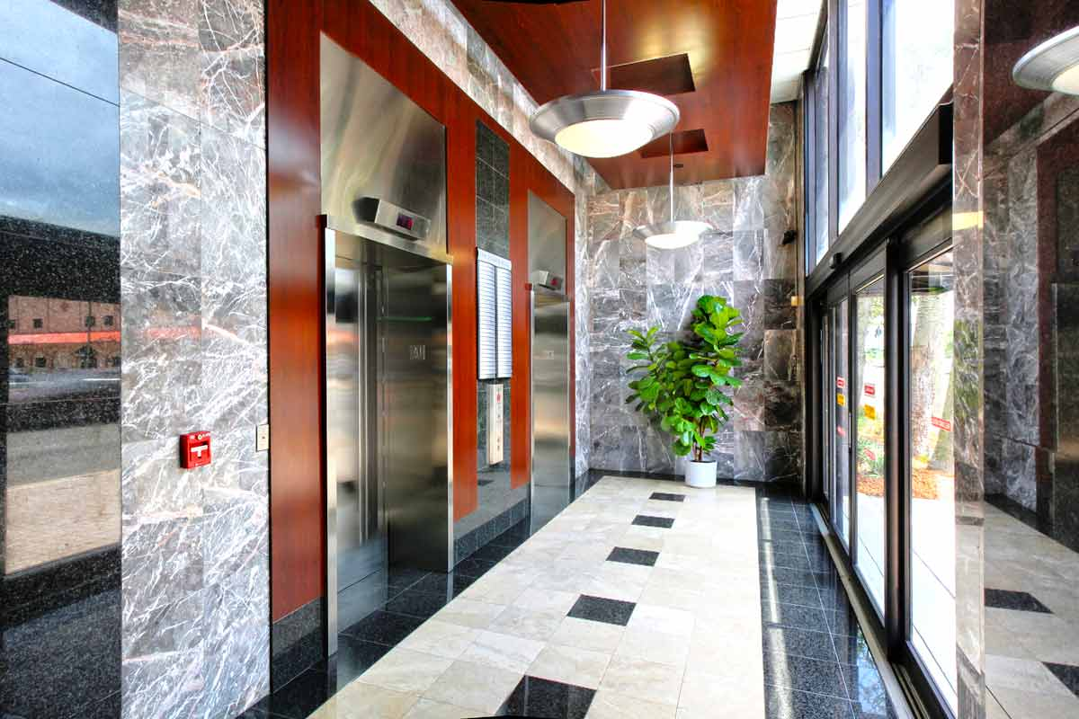 Elevator acccess to your office space
